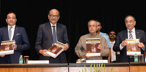 "Speech by the President of India, Shri Pranab Mukherjee at the presentation of first copies of the books ""Colour Atlas of Oral Implantology"" and ""Conservative Dentistry – basics"""