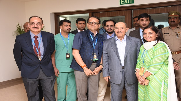Jaypee Hospital welcomes His Highness The King of the State of Kuwait Sheikh Sabah Al Ahmad Al-Jaber Al-Sabah