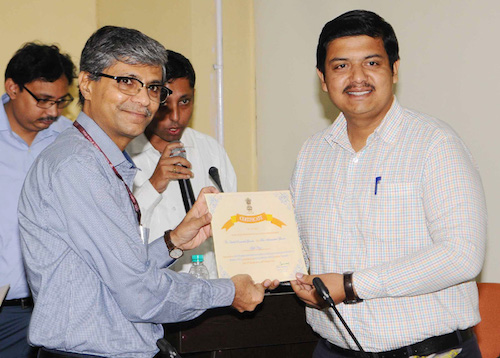 Special Secretary AYUSH gives away Prizes to Winners of Online Article Writing Contests