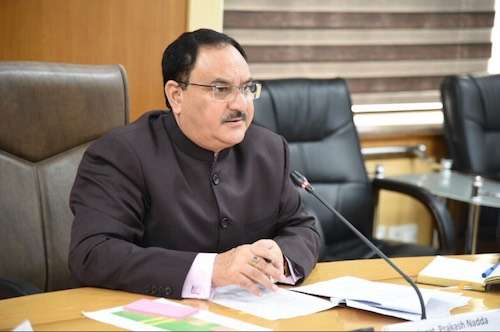 Shri J P Nadda reviews the progress of Intensified Mission Indradhanush