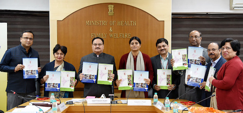 Shri J P Nadda releases National Trachoma Survey Report (2014-17)