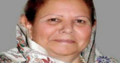 Governor and CM mourn demise of Smt. Urmila Singh