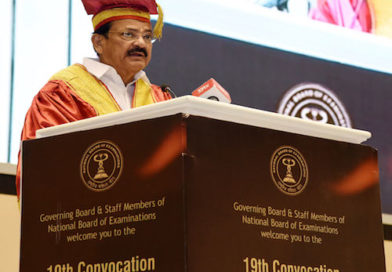 The Vice President of India Addresses the 19th Convocation of NBE; Urges doctors to serve in rural areas