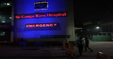 "Sir Ganga Ram Hospital turns in Blue colour today on ""World Diabetes Day"""